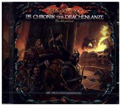 Die Chronik der Drachenlanze - Drachendämmerung, 3 Audio-CDs - Holy, David