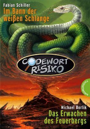 Codewort Risiko - Im Bann der weißen Schlange\Codewort Risiko - Das Erwachen des Feuerbergs - Schiller, Fabian; Borlik, Michael