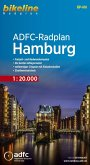 Bikeline Radkarte ADFC-Radplan Hamburg