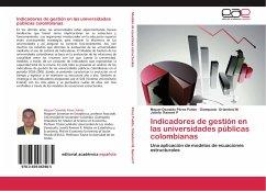Indicadores de gestión en las universidades públicas colombianas