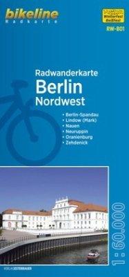 Bikeline Radwanderkarte Berlin Nordwest