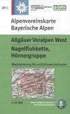 Alpenvereinskarte Allgäuer Voralpen West, Nagelfluhkette, Hörnergruppe