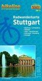 Bikeline Radwanderkarte Stuttgart