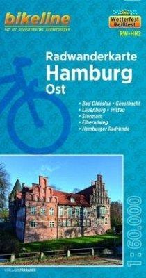 Bikeline Radwanderkarte Hamburg Ost