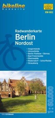 Bikeline Radwanderkarte Berlin Nordost