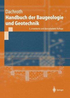 Handbuch der Baugeologie und Geotechnik - Dachroth, Wolfgang R.