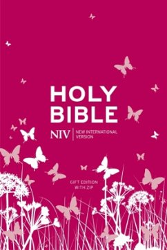 NIV Tiny Pink Soft-Tone Bible with Zip - Version, New International