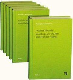 Philosophische Werke in sechs Bänden - Nietzsche, Friedrich