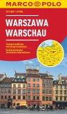 MARCO POLO Cityplan Warschau 1:15 000; Warsaw; Warszawa