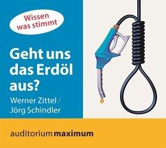 Geht uns das Erdöl aus?, 1 Audio-CD - Zittel, Werner; Schindler, Jörg