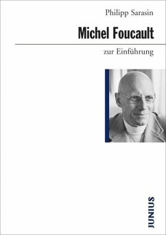 Michel Foucault zur Einführung - Sarasin, Philipp