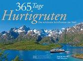 365 Tage Hurtigruten Tischaufsteller