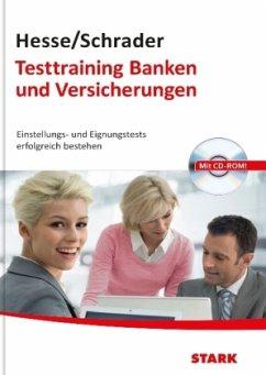 Testtraining Banken und Versicherungen, m. CD-ROM