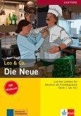 Die Neue (Stufe 1) - Buch mit Audio-CD