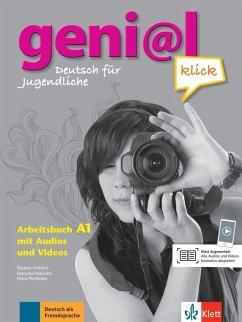 geni@l klick A1 - Arbeitsbuch mit 2 Audio-CDs - Fröhlich, Birgitta; Koenig, Michael; Koithan, Ute; Mariotta, Maruska; Scherling, Theo; Pfeifhofer, Petra