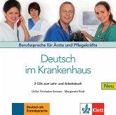 2 Audio-CDs zum Lehr- und Arbeitsbuch / Deutsch im Krankenhaus, Neubearbeitung Band 1 1