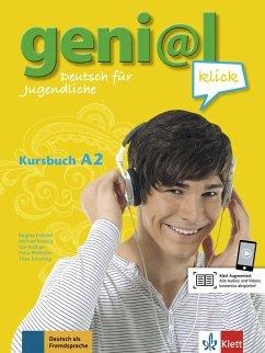 geni@(a)l klick A2 - Kursbuch mit 2 Audio-CDs - Fröhlich, Birgitta;Koenig, Michael;Koithan, Ute