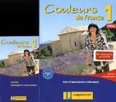 Couleurs de France Neu 1 - Set aus Buch, Beiheft, Audio-CDs und Vokabeltrainer
