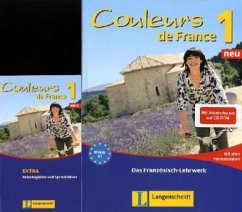 Couleurs de France Neu 1 - Set aus Buch, Beihef...