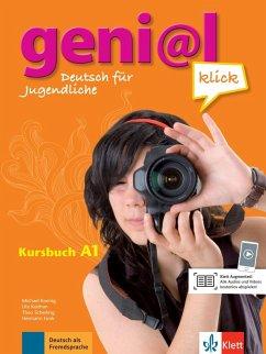 geni@l klick A1 - Kursbuch mit 2 Audio-CDs - Funk, Hermann; Koenig, Michael; Scherling, Theo; Koithan, Ute