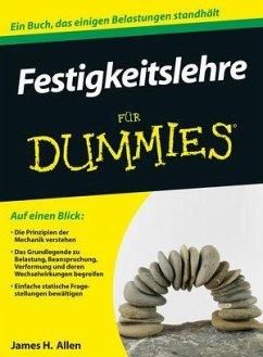Festigkeitslehre für Dummies - Allen, James H.