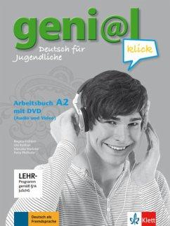 Arbeitsbuch, m. DVD-ROM / geni@l Klick Bd.A2 - Fröhlich, Birgitta;Koithan, Ute;Mariotta, Maruska