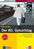 Der 80. Geburtstag (Stufe 1) - Buch mit Audio-CD