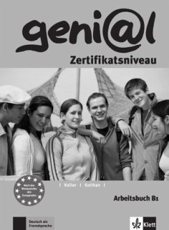 geni@l B1 - Arbeitsbuch B1 mit Audio-CD - Funk, Hermann; Koenig, Michael; Koithan, Ute; Keller, Susy