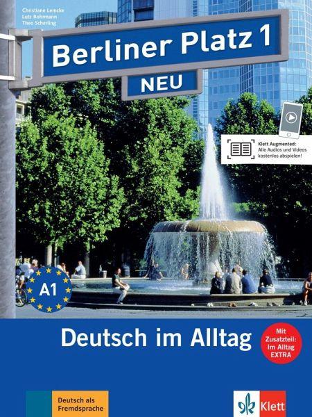 berliner platz 1 neu lehr und arbeitsbuch 1 mit 2 audio. Black Bedroom Furniture Sets. Home Design Ideas