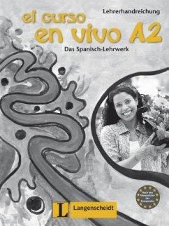 El curso en vivo A2 - Lehrerhandreichung