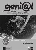 geni@l A2 - Arbeitsbuch A2 mit Audio-CD
