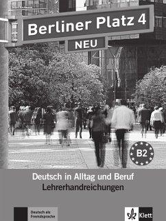 Berliner Platz 4 NEU - Lehrerhandreichungen
