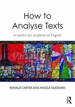 How to Analyse Texts - Carter, Ronald; Goddard, Angela