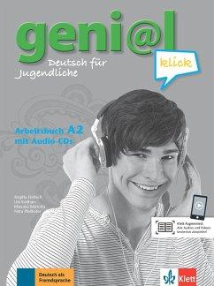 geni@l klick A2 - Arbeitsbuch mit 2 Audio-CDs - Fröhlich, Birgitta;Koithan, Ute;Mariotta, Maruska