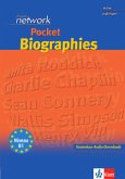 English Network Pocket Biographies - Buch mit Audio-Download