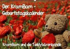 Der KramBam-Geburtstagskalender (Wandkalender immerwährend DIN A2 quer)