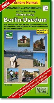 Doktor Barthel Karte Radfernweg Berlin-Usedom
