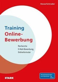Hesse/Schrader: Training Online-Bewerbung - Hesse, Jürgen; Schrader, Hans-Christian