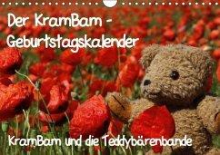 Der KramBam-Geburtstagskalender (Wandkalender immerwährend DIN A4 quer)