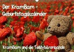 Der KramBam-Geburtstagskalender (Wandkalender immerwährend DIN A3 quer)