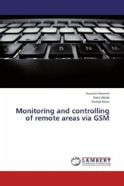 Monitoring and controlling of remote areas via GSM