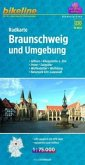 Bikeline Radkarte Braunschweig und Umgebung