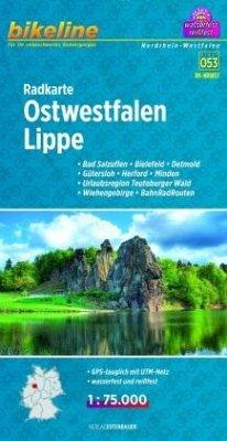 Bikeline Radkarte Ostwestfalen-Lippe