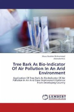 Tree Bark As Bio-Indicator Of Air Pollution In An Arid Environment