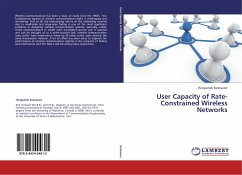 User Capacity of Rate-Constrained Wireless Networks