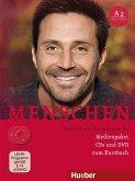 Medienpaket, 2 Audio-CDs + 1 DVD (zum Kursbuch) / Menschen - Deutsch als Fremdsprache Bd.A2