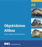 Objektdaten Altbau A8, m. CD-ROM