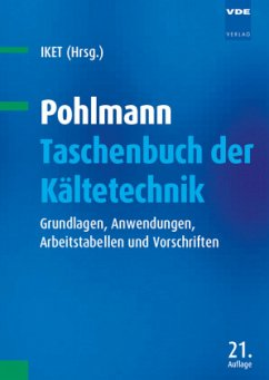 Pohlmann - Taschenbuch der Kältetechnik