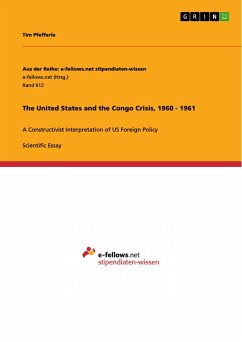 The United States and the Congo Crisis, 1960 - 1961