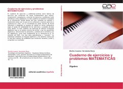 Cuaderno de ejercicios y problemas MATEMATICAS I
